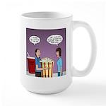 Movie Pop and Popcorn Large Mug