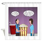 Movie Pop and Popcorn Shower Curtain