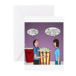 Movie Pop and Popcorn Greeting Cards (Pk of 20)
