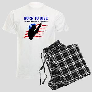TOP DIVER Men's Light Pajamas