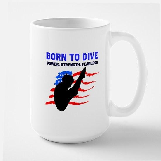TOP DIVER Large Mug