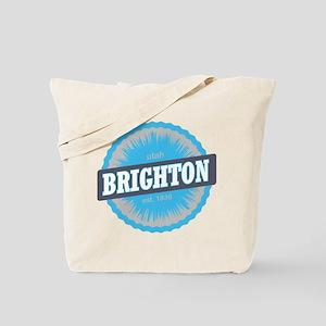 Brighton Ski Resort Utah Sky Blue Tote Bag