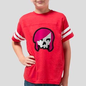 pinkhairskull Youth Football Shirt