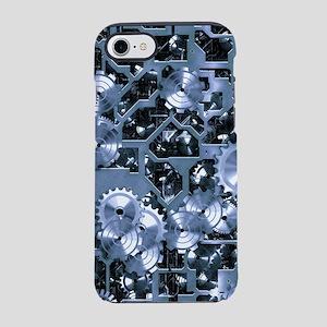 SteamClockwork - Steel iPhone 7 Tough Case
