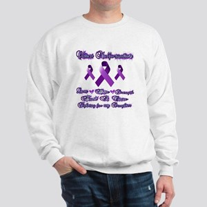 Fighting Chiari for my daughter Sweatshirt