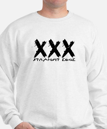 XXX Straight Edge Hardcore Punk Sweatshirt