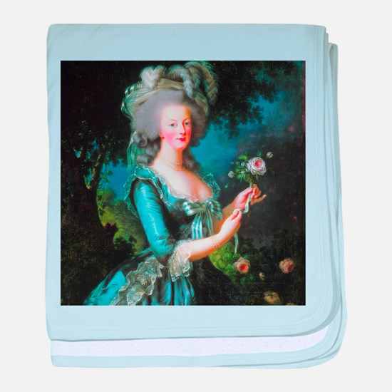Vigée-Lebrun - Marie-Antoinette baby blanket