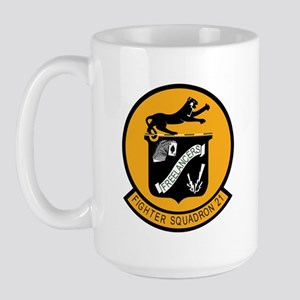 F-14 Tomcat VF-21 Freelancers Large Mug