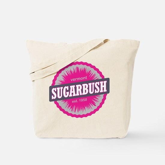 Sugarbush Resort Ski Resort Vermont Pink Tote Bag