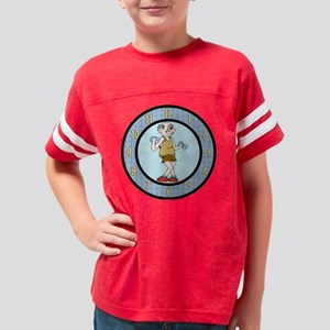 retirement wallclock22 Youth Football Shirt