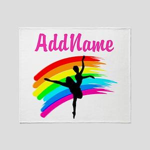 LOVE DANCING Throw Blanket