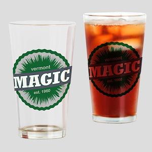 Magic Mountain Ski Resort Vermont Dark Green Drink