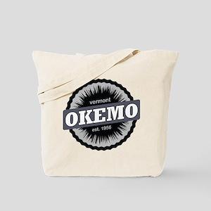 Okemo Mountain Ski Resort Vermont Black Tote Bag