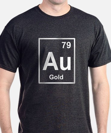 gold periodic element light T-Shirt