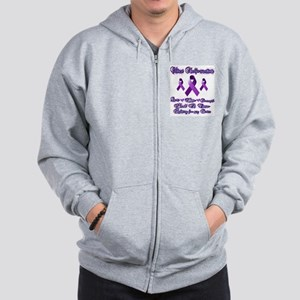 Fighting Chiari For my Sister Zip Hoodie