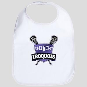 Iroquois Nation Flag Lacrosse Logo Bib