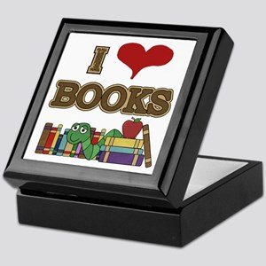 I Love Books Keepsake Box