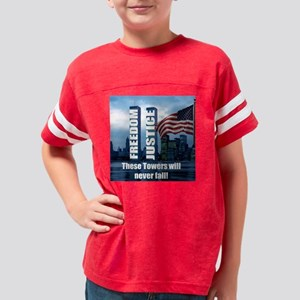 freedom justice big Youth Football Shirt