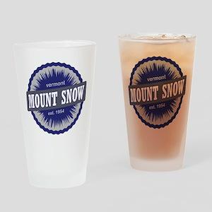 Mount Snow Ski Resort Vermont Navy Blue Drinking G