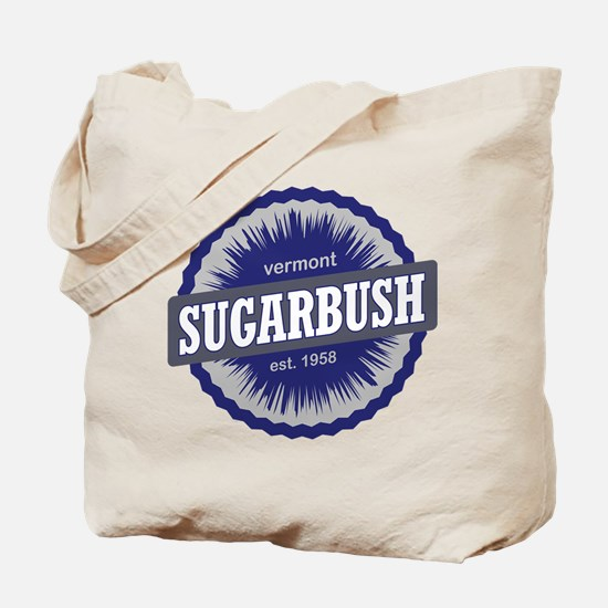 Sugarbush Resort Ski Resort Vermont Navy Blue Tote