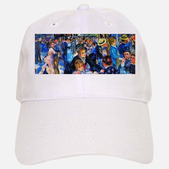Renoir: Dance at Le Moulin de la Galette Baseball Baseball Cap