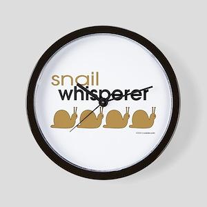 snail-darker Wall Clock