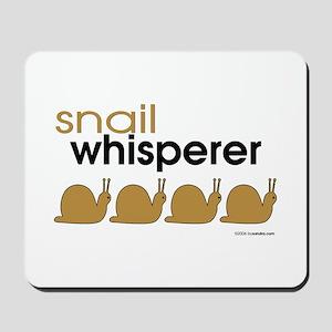 snail-darker Mousepad