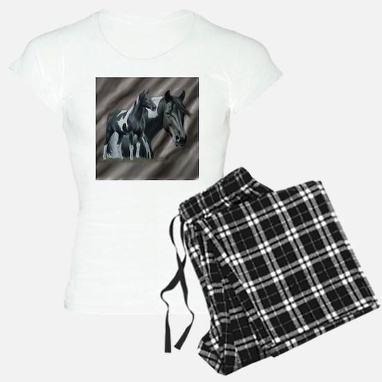 Pinto Horse Pajamas
