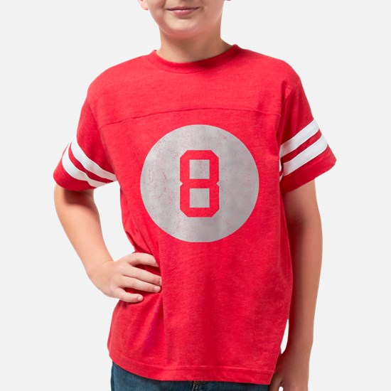 Vintage 8 Ball Youth Football Shirt
