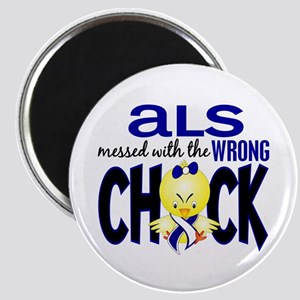 ALS Messed With Wrong Chick Magnet