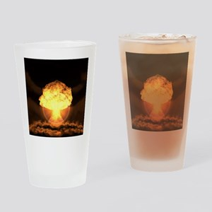Drop the bomb Drinking Glass