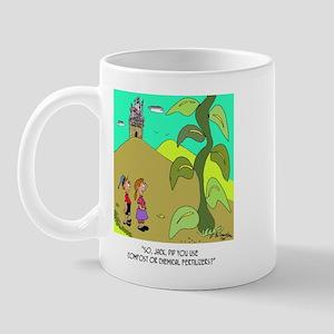 Jack and The Bean Stalk Use Fertilizer Mug