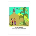 Jack and The Bean Stalk Use Fertilizer Postcards (