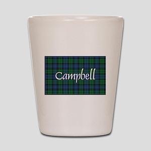 Tartan - Campbell Shot Glass