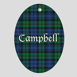 Tartan - Campbell Ornament (Oval)