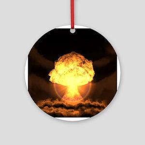 Drop the bomb Ornament (Round)