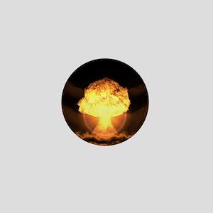 Drop the bomb Mini Button