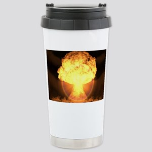 Drop the bomb Stainless Steel Travel Mug