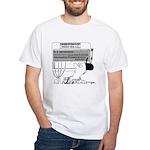 In Case of Cash-Flow Emergency White T-Shirt