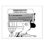 In Case of Cash-Flow Emergency Small Poster