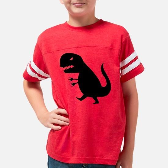 dinosaurbl Youth Football Shirt