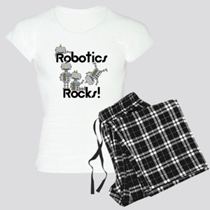 Robotics Rocks Women's Light Pajamas
