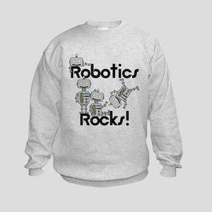 Robotics Rocks Kids Sweatshirt