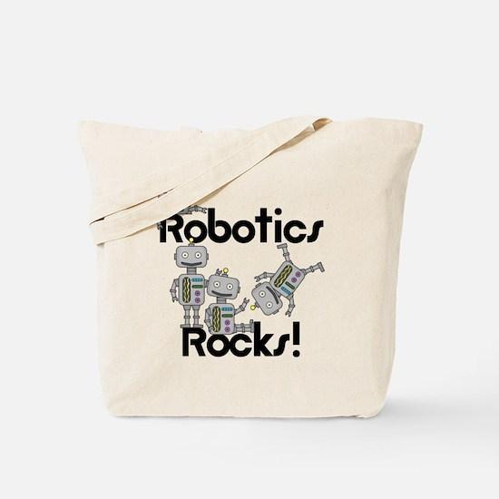 Robotics Rocks Tote Bag