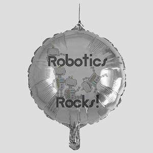 Robotics Rocks Mylar Balloon