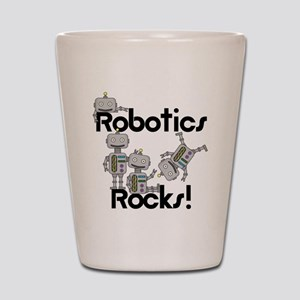 Robotics Rocks Shot Glass