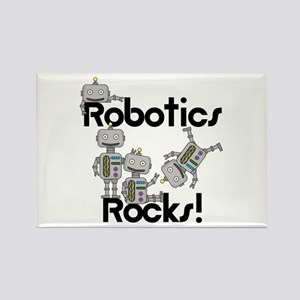 Robotics Rocks Rectangle Magnet