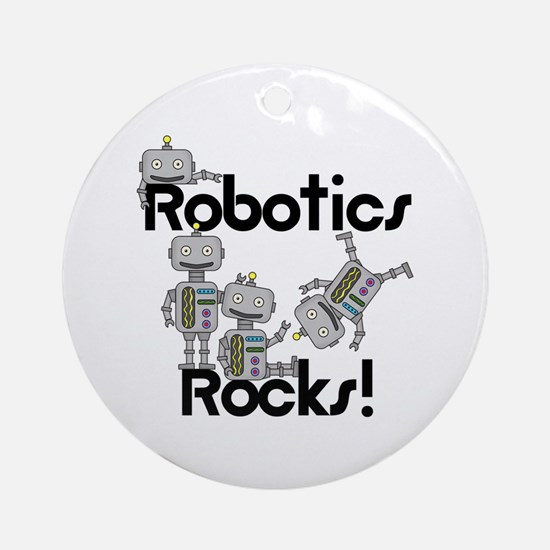 Robotics Rocks Ornament (Round)