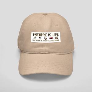 Theatre is Life Cap