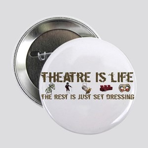 Theatre is Life Button